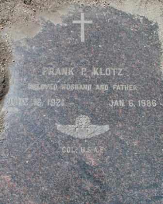 KLOTZ, FRANK - El Paso County, Colorado   FRANK KLOTZ - Colorado Gravestone Photos