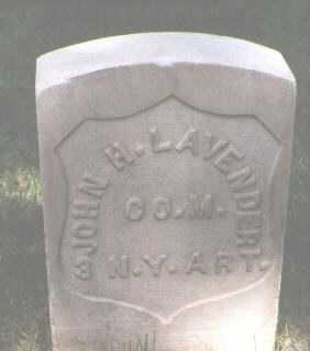 LAVENDER, JOHN H. - El Paso County, Colorado | JOHN H. LAVENDER - Colorado Gravestone Photos