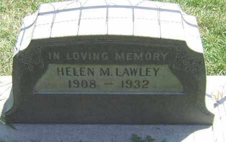 LAWLEY, HELEN M - El Paso County, Colorado   HELEN M LAWLEY - Colorado Gravestone Photos