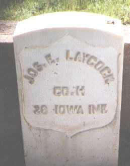 LAYCOCK, JOSEPH E. - El Paso County, Colorado | JOSEPH E. LAYCOCK - Colorado Gravestone Photos