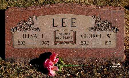 LEE, BELVA T. - El Paso County, Colorado | BELVA T. LEE - Colorado Gravestone Photos