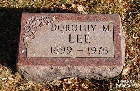 LEE, DOROTHY M. - El Paso County, Colorado | DOROTHY M. LEE - Colorado Gravestone Photos