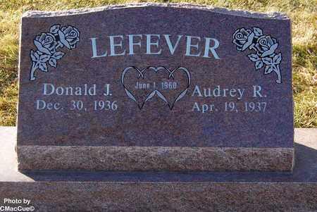 LEFEVER, AUDREY R. - El Paso County, Colorado | AUDREY R. LEFEVER - Colorado Gravestone Photos