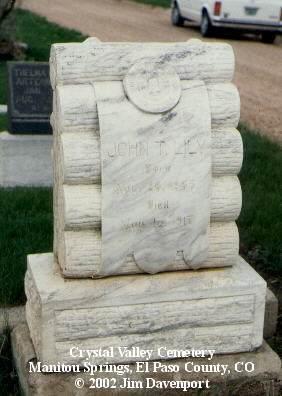 LILY, JOHN T. - El Paso County, Colorado | JOHN T. LILY - Colorado Gravestone Photos