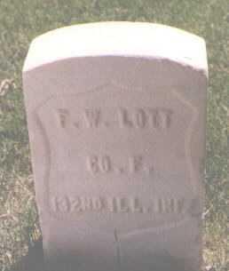 LOTT, FRANK W. - El Paso County, Colorado | FRANK W. LOTT - Colorado Gravestone Photos