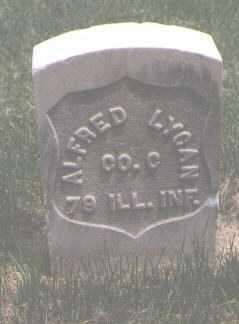 LYCAN, ALFRED - El Paso County, Colorado | ALFRED LYCAN - Colorado Gravestone Photos