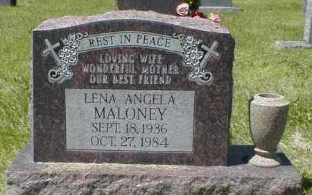 MALONEY, LENA ANGELA - El Paso County, Colorado   LENA ANGELA MALONEY - Colorado Gravestone Photos