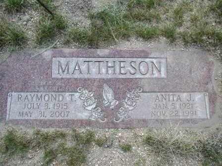 MATTHESON, ANITA - El Paso County, Colorado   ANITA MATTHESON - Colorado Gravestone Photos