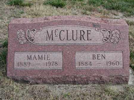 MCCLURE, MAMIE - El Paso County, Colorado | MAMIE MCCLURE - Colorado Gravestone Photos