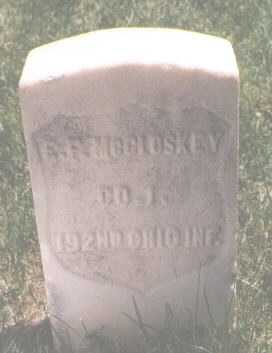MCCLUSKEY, E. F. - El Paso County, Colorado | E. F. MCCLUSKEY - Colorado Gravestone Photos