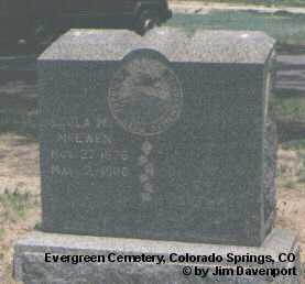 MCEWEN, LEOLA M. - El Paso County, Colorado   LEOLA M. MCEWEN - Colorado Gravestone Photos