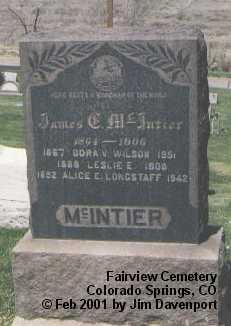 LONGSTAFF, ALICE E. - El Paso County, Colorado | ALICE E. LONGSTAFF - Colorado Gravestone Photos