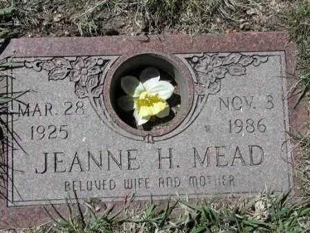 MEAD, JEANNE - El Paso County, Colorado   JEANNE MEAD - Colorado Gravestone Photos