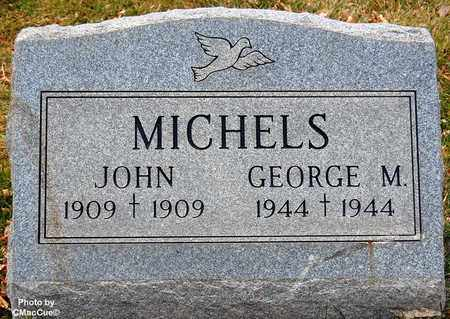 MICHELS, GEORGE M. - El Paso County, Colorado | GEORGE M. MICHELS - Colorado Gravestone Photos