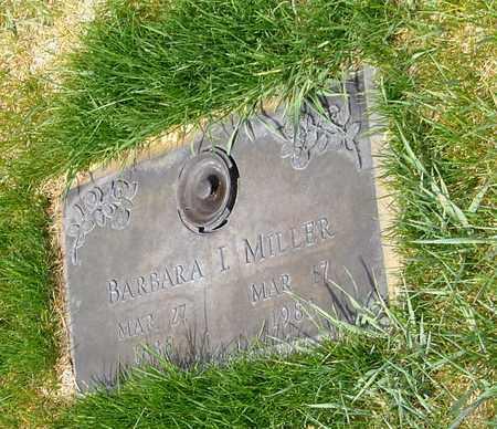 MILLER, BARBARA I - El Paso County, Colorado | BARBARA I MILLER - Colorado Gravestone Photos