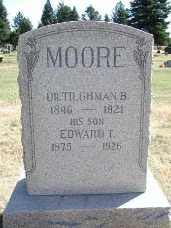 MOORE, TILGHMAN B. - El Paso County, Colorado | TILGHMAN B. MOORE - Colorado Gravestone Photos