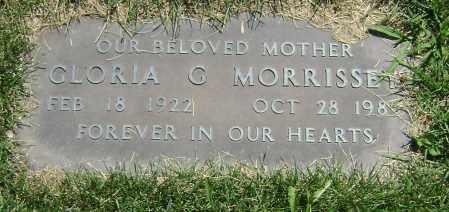 MORRISSEY, GLORIA G - El Paso County, Colorado | GLORIA G MORRISSEY - Colorado Gravestone Photos