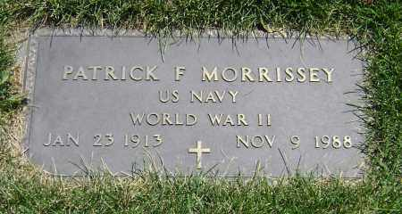 MORRISSEY, PATRICK FRANCIS - El Paso County, Colorado | PATRICK FRANCIS MORRISSEY - Colorado Gravestone Photos