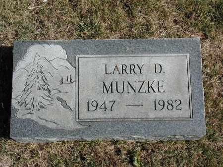 MUNZKE, LARRY D. - El Paso County, Colorado | LARRY D. MUNZKE - Colorado Gravestone Photos