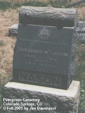 NASON, THEODORE - El Paso County, Colorado   THEODORE NASON - Colorado Gravestone Photos
