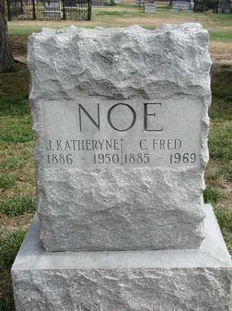 NOE, J. KATHERYNE - El Paso County, Colorado   J. KATHERYNE NOE - Colorado Gravestone Photos
