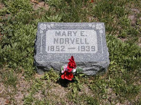 NORVELL, MARY - El Paso County, Colorado | MARY NORVELL - Colorado Gravestone Photos