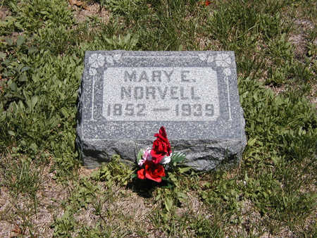 NORVELL, MARY - El Paso County, Colorado | MARY NORVELL - Colorado Gravestone Photos