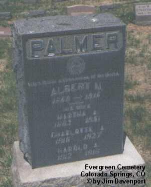 PALMER, HAROLD A. - El Paso County, Colorado | HAROLD A. PALMER - Colorado Gravestone Photos