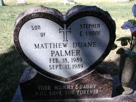 PALMER, MATTHEW D. - El Paso County, Colorado | MATTHEW D. PALMER - Colorado Gravestone Photos