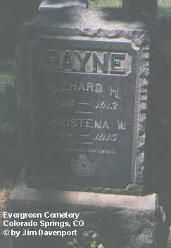 PAYNE, RICHARD H. - El Paso County, Colorado | RICHARD H. PAYNE - Colorado Gravestone Photos