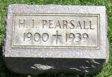 PEARSALL, H. I. - El Paso County, Colorado | H. I. PEARSALL - Colorado Gravestone Photos