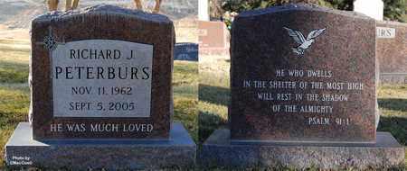 PETERBURS, RICHARD J. - El Paso County, Colorado | RICHARD J. PETERBURS - Colorado Gravestone Photos
