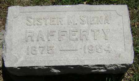 RAFFERTY, SISTER M. SIENA - El Paso County, Colorado | SISTER M. SIENA RAFFERTY - Colorado Gravestone Photos