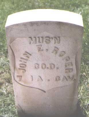 ROPER, JOHN E. - El Paso County, Colorado | JOHN E. ROPER - Colorado Gravestone Photos