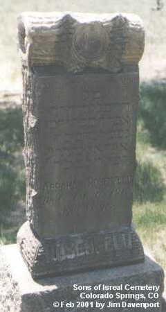 ROSENFELD, ABRAHAM - El Paso County, Colorado | ABRAHAM ROSENFELD - Colorado Gravestone Photos