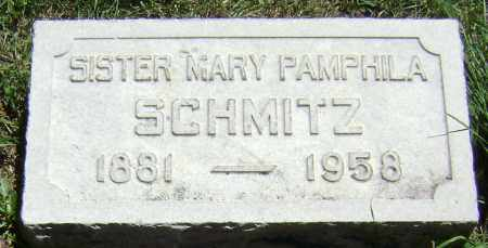 SCHMITZ, SISTER MARY PAMPHILA - El Paso County, Colorado   SISTER MARY PAMPHILA SCHMITZ - Colorado Gravestone Photos