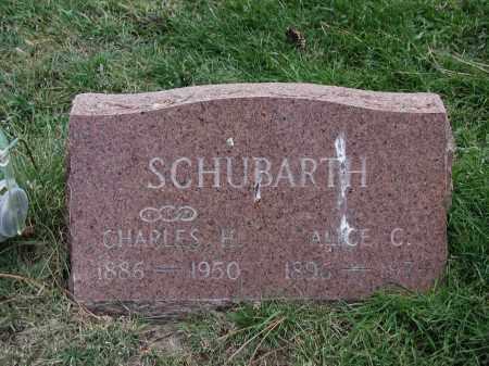 SCHUBARTH, ALICE C. - El Paso County, Colorado   ALICE C. SCHUBARTH - Colorado Gravestone Photos