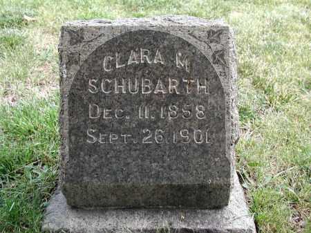 SCHUBARTH, CLARA M. - El Paso County, Colorado   CLARA M. SCHUBARTH - Colorado Gravestone Photos