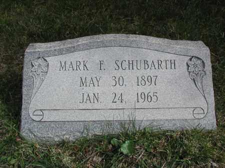 SCHUBARTH, MARK F. - El Paso County, Colorado | MARK F. SCHUBARTH - Colorado Gravestone Photos