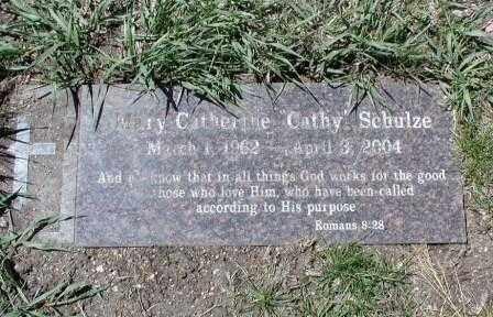 SCHULZE, MARY - El Paso County, Colorado | MARY SCHULZE - Colorado Gravestone Photos