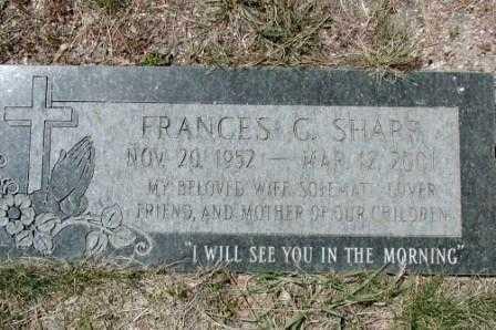 SHARP, FRANCES - El Paso County, Colorado   FRANCES SHARP - Colorado Gravestone Photos