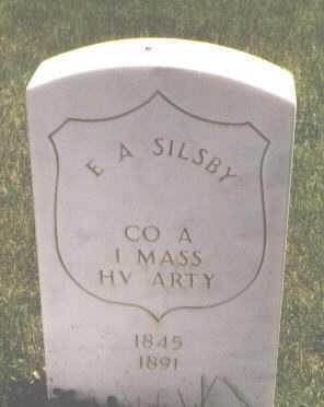 SILSBY, E. A. - El Paso County, Colorado | E. A. SILSBY - Colorado Gravestone Photos