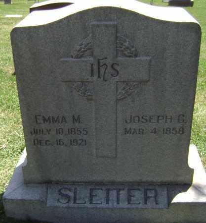 SLEITER, EMMA M - El Paso County, Colorado   EMMA M SLEITER - Colorado Gravestone Photos