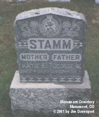 STAMM, KATIE E. - El Paso County, Colorado | KATIE E. STAMM - Colorado Gravestone Photos