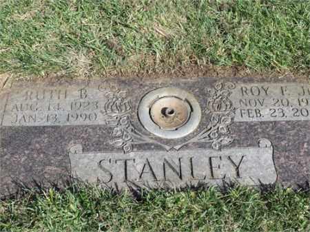 STANLEY, RUTH B. - El Paso County, Colorado   RUTH B. STANLEY - Colorado Gravestone Photos