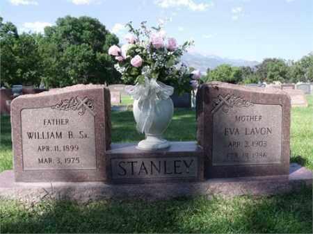 STANLEY SR, WILLIAM B. - El Paso County, Colorado   WILLIAM B. STANLEY SR - Colorado Gravestone Photos
