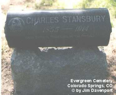 STANSBURY, CHARLES - El Paso County, Colorado | CHARLES STANSBURY - Colorado Gravestone Photos