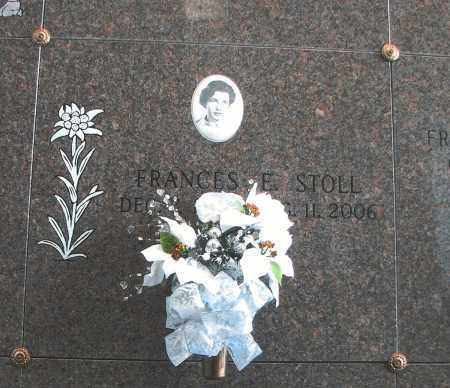 STOLL, FRANCES E - El Paso County, Colorado | FRANCES E STOLL - Colorado Gravestone Photos
