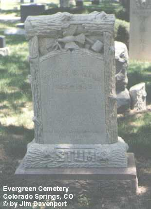 STUM, GEORGE B. - El Paso County, Colorado | GEORGE B. STUM - Colorado Gravestone Photos