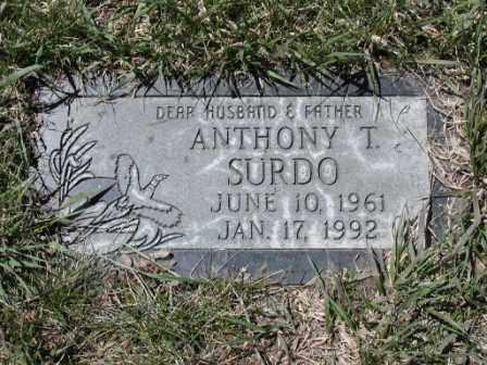 SURDO, ANTHONY - El Paso County, Colorado   ANTHONY SURDO - Colorado Gravestone Photos